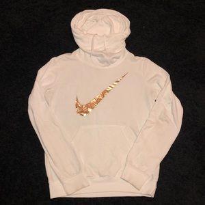 High neck Nike hoodie